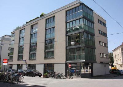 Wohn- und Geschäftsobjekt Paris Lodronstraße Salzburg